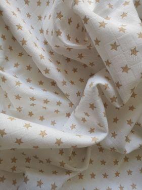Dětská látková osuška Zlaté hvězdy