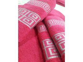 GREEK ručník a osuška růžová