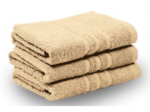 KLASIK PROUŽEK ručník a osuška béžová