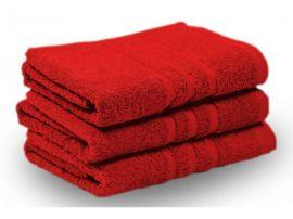 KLASIK PROUŽEK ručník a osuška červená