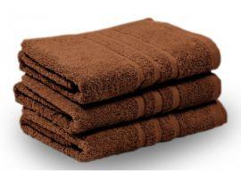 KLASIK PROUŽEK ručník a osuška hnědá
