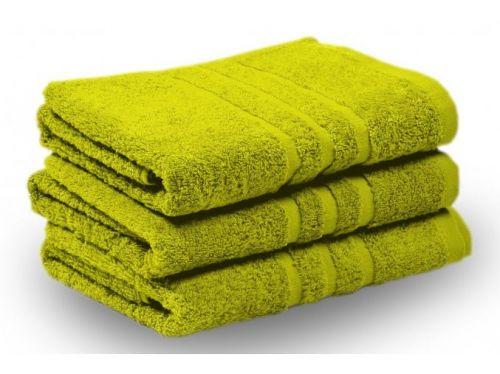 KLASIK PROUŽEK ručník a osuška zelená pistácie