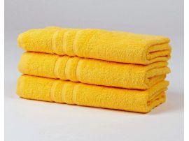KLASIK PROUŽEK ručník a osuška žlutá