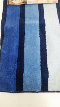 Koupelnová předložka Borneo Beige N95 modrá