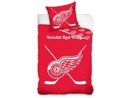 NHL povlečení Detroit Red Wings 140x200, 70x90cm