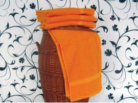 Ručník a osuška KLASIK oranžový